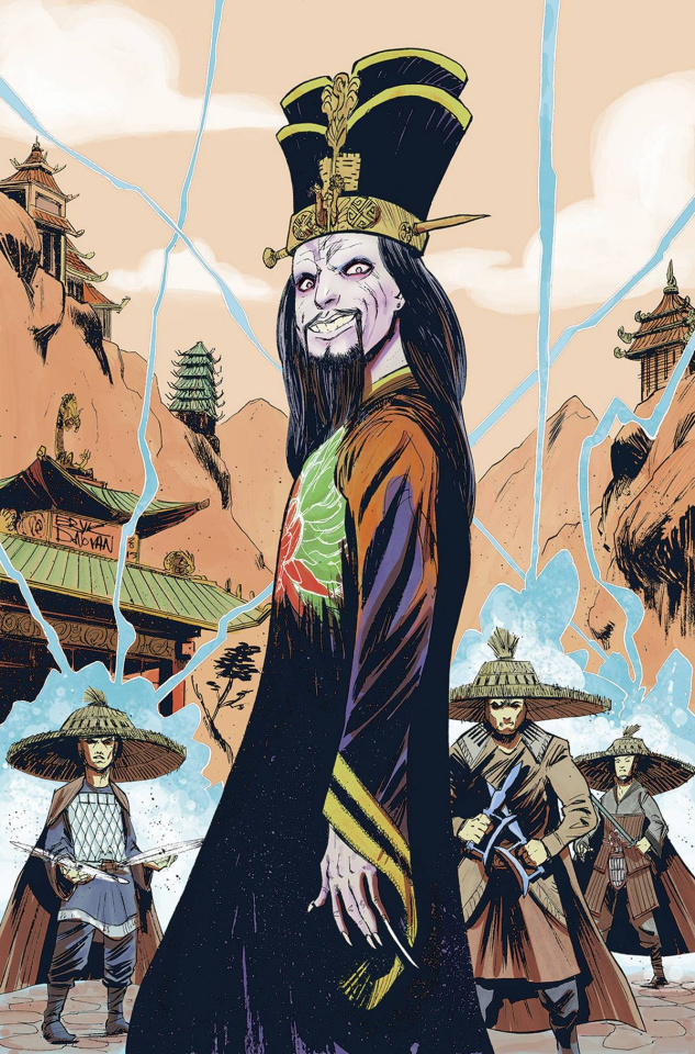 Big Trouble in Little China #16 (20 Copy Donovon Cover)