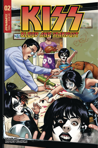KISS: Blood and Stardust #2 (Sanapo Cover)