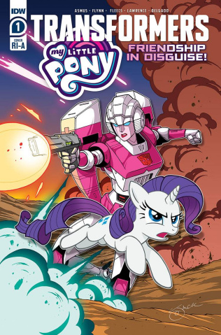 My Little Pony / The Transformers #1 (10 Copy Cover)