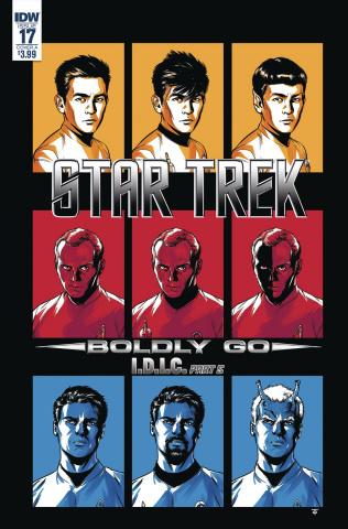 Star Trek: Boldly Go #17 (To Cover)