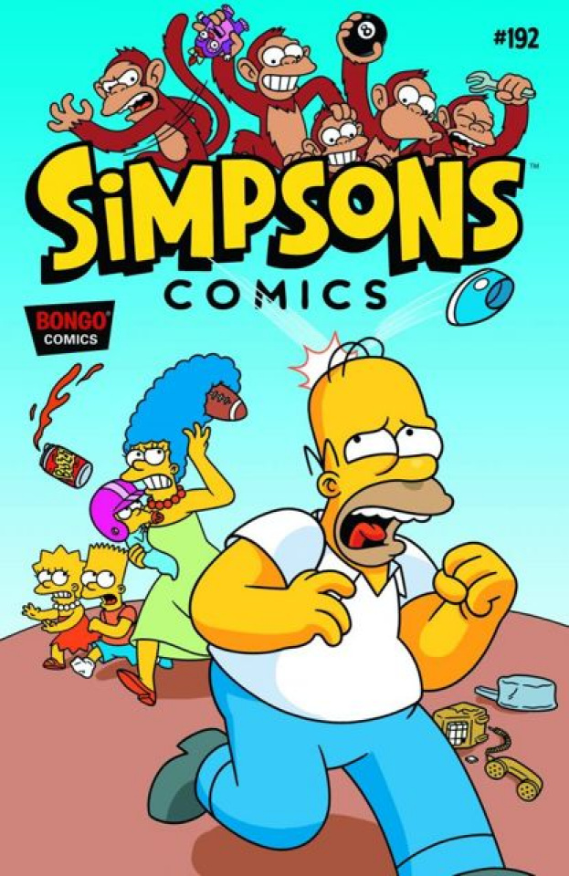 Simpsons Comics #192