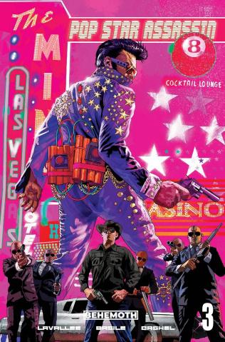 Pop Star Assassin #3 (Fraser Coombe Cover)