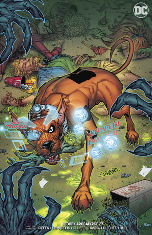 Scooby: Apocalypse #27 (Variant Cover)