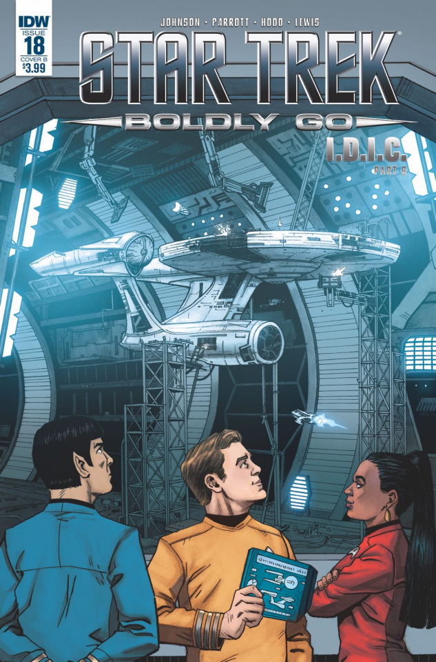 Star Trek: Boldly Go #18 (Marron Cover)