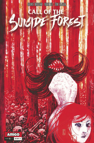 Call of the Suicide Forest #5 (10 Copy Cover)