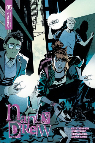 Nancy Drew #5 (Lupacchino Cover)