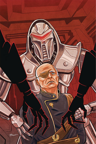 Battlestar Galactica: Twilight Command #1 (25 Copy Schoonover Cover)