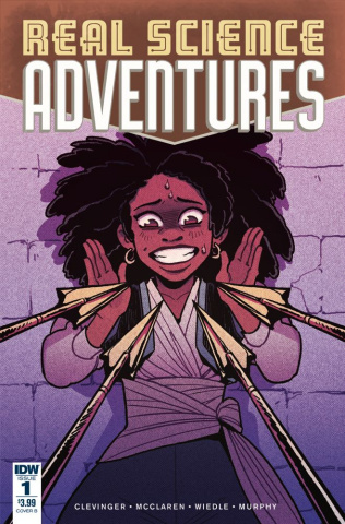 Real Science Adventures: Nicodemus Job #1 (Wiedle Cover)