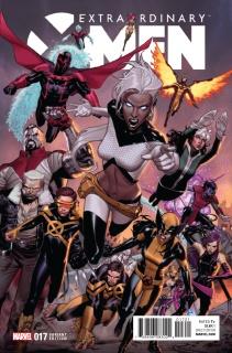 Extraordinary X-Men #17 (Molina IvX Cover)