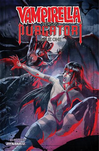 Vampirella vs. Purgatori #1 (Kudranski Cover)