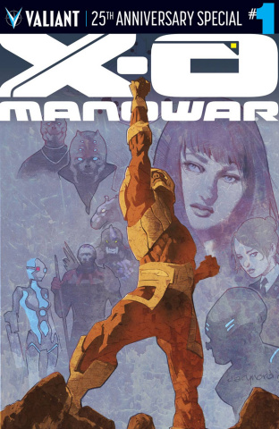 X-O Manowar 25th Anniversary Special #1 (Nord Cover)
