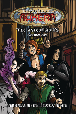 Legends of Aukera: The Ascendants Vol. 1
