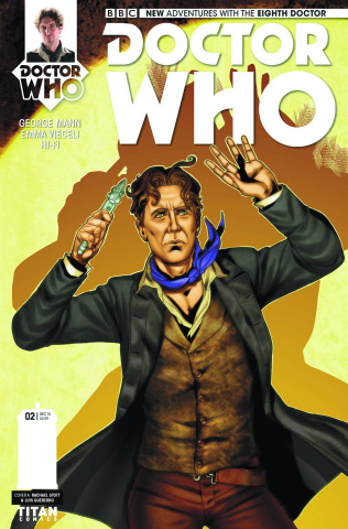 Doctor Who: New Adventures with the Eighth Doctor #2 (Stott Cover)