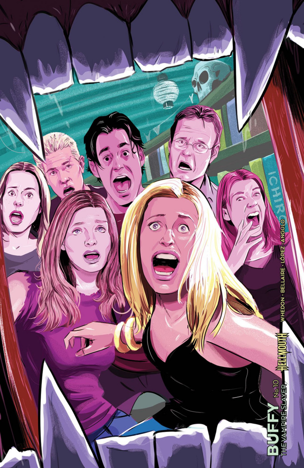 Buffy the Vampire Slayer #10 (Preorder Inzana Cover)