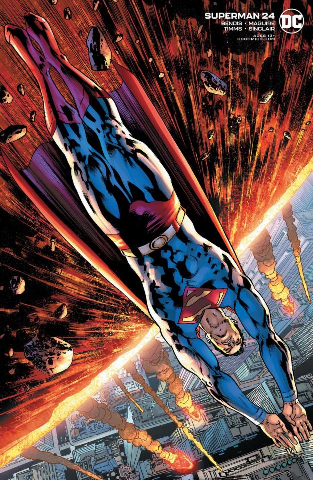 Superman #24 (Bryan Hitch Cover)
