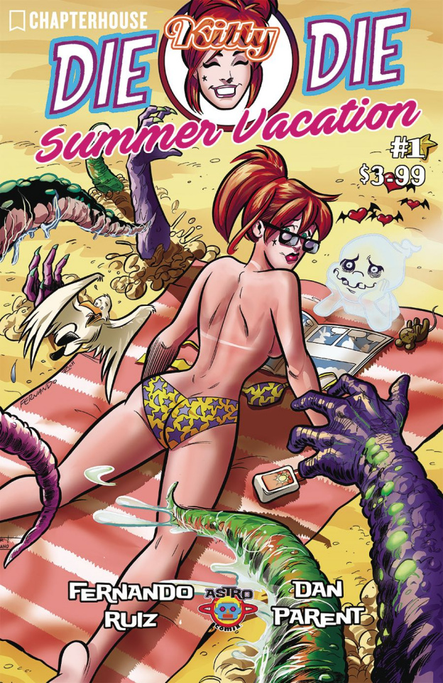 Die Kitty Die! Hollywood or Bust Summer Special #1 (Ruiz Cover)