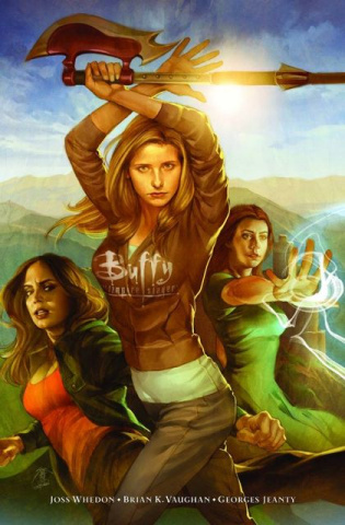 Buffy the Vampire Slayer, Season 8 Library Vol. 1: Long Way Home