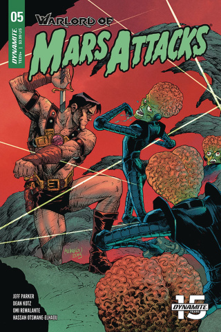 Warlord of Mars Attacks #5 (Melnikov Cover)