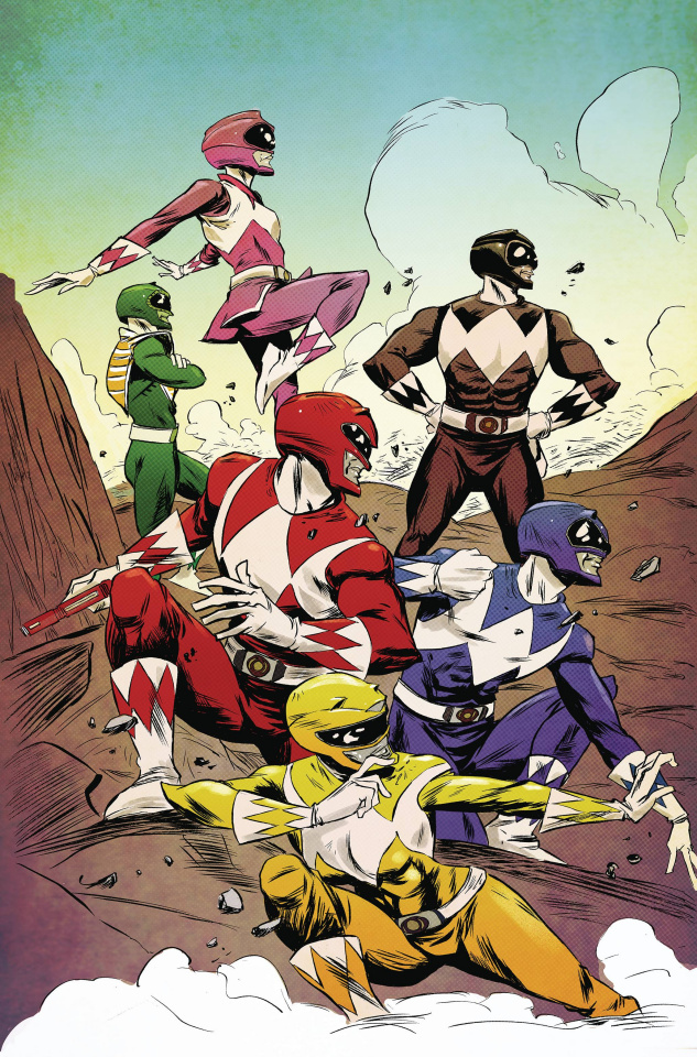 Mighty Morphin' Power Rangers #3 (50 Copy Greene Cover)