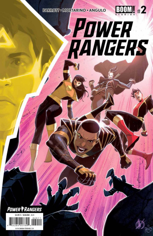 Power Rangers #2 (Scalera Cover)