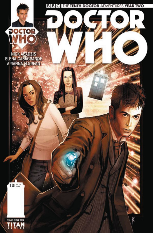 Doctor Who: New Adventures with the Tenth Doctor, Year Two #13 (Reis Cover)