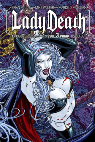 Lady Death #3 (Wrap Cover)