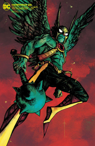 Hawkman #26 (Sebastian Fiumara Cover)