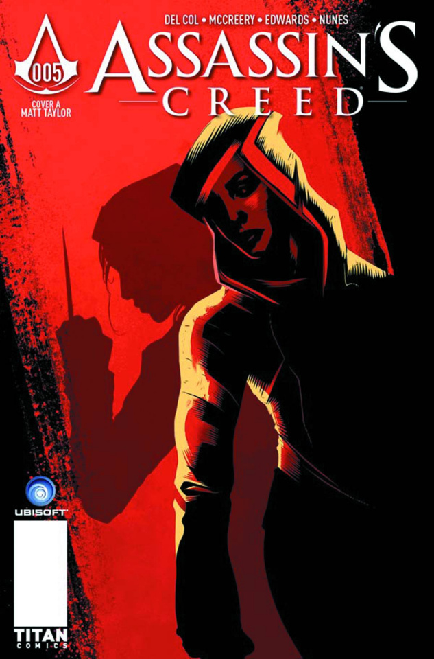 Assassin's Creed #5 (Taylor Cover)