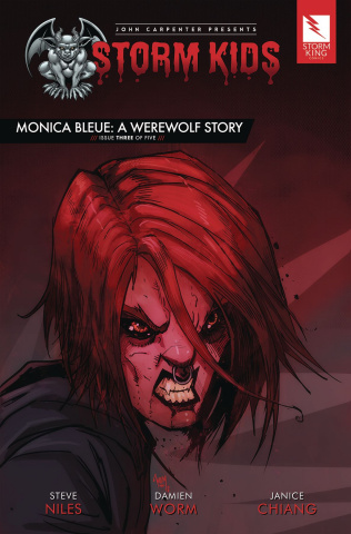 Storm Kids: Monica Bleue - A Werewolf Story #3