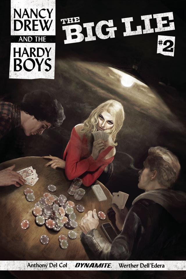 Nancy Drew and The Hardy Boys #2 (Dalton Cover)