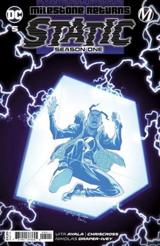 Static: Season One #5 (Khary Randolph Cover)