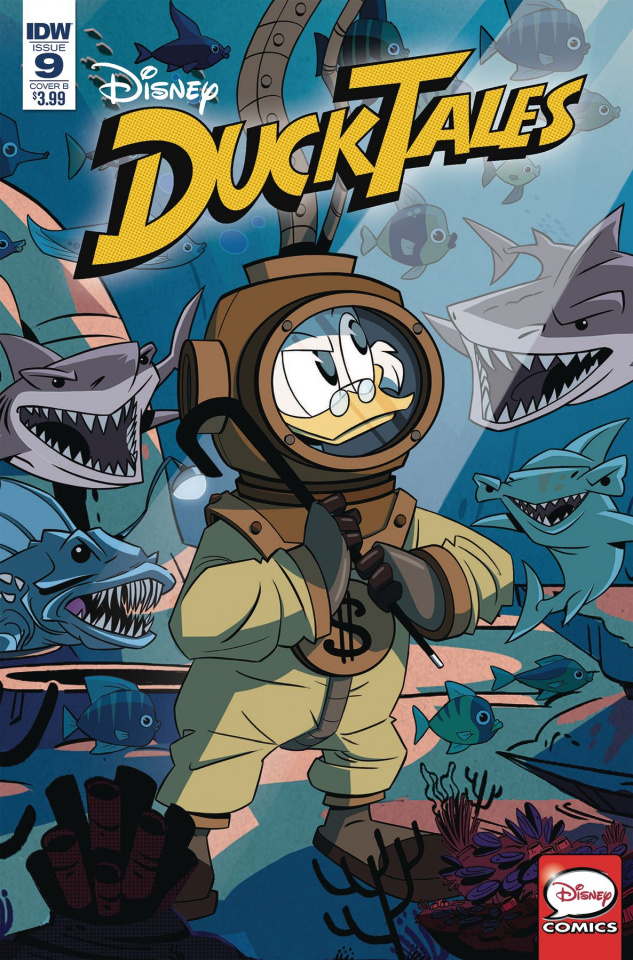 DuckTales #9 (Ghiglione Cover)