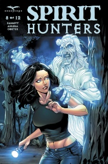 Spirit Hunters #8 (Spay Cover)