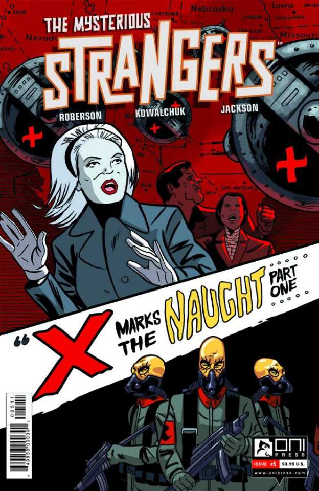 The Mysterious Strangers #5