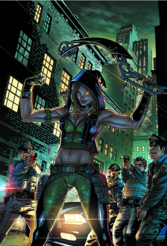 Grimm Fairy Tales: Robyn Hood - Wanted #2 (Ortiz Cover)