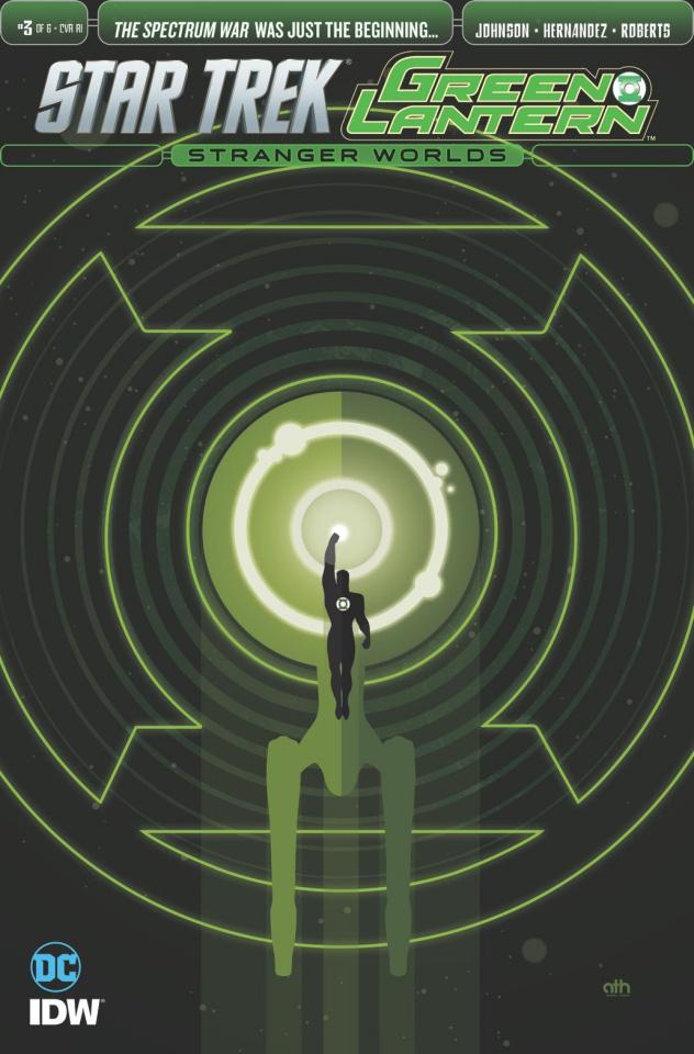 Star Trek / Green Lantern #3 (10 Copy Cover)