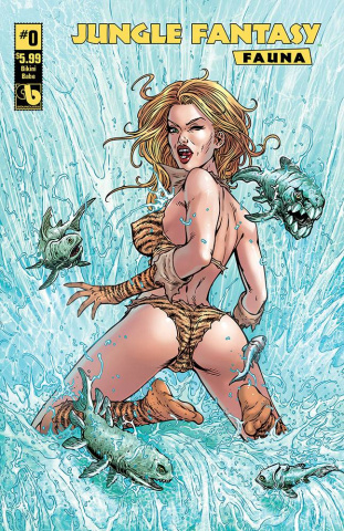 Jungle Fantasy: Fauna #0 (Bikini Babes Cover)