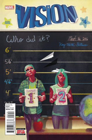 The Vision #4 (Del Mundo 2nd Printing)