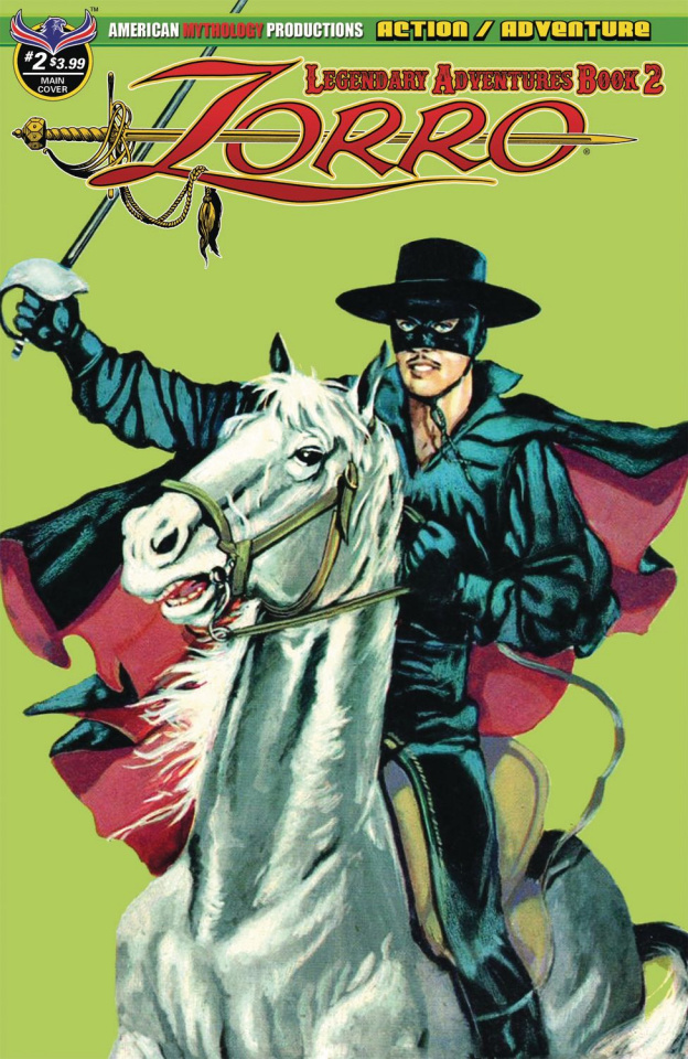Zorro: Legendary Adventures #2
