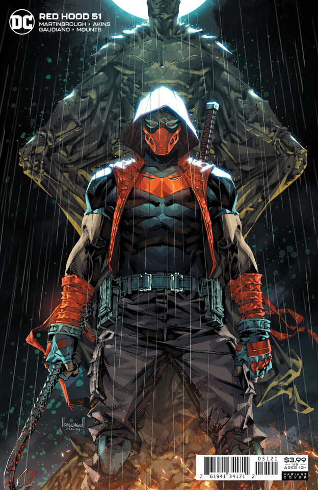 Red Hood #51 (Kael Ngu Cover)