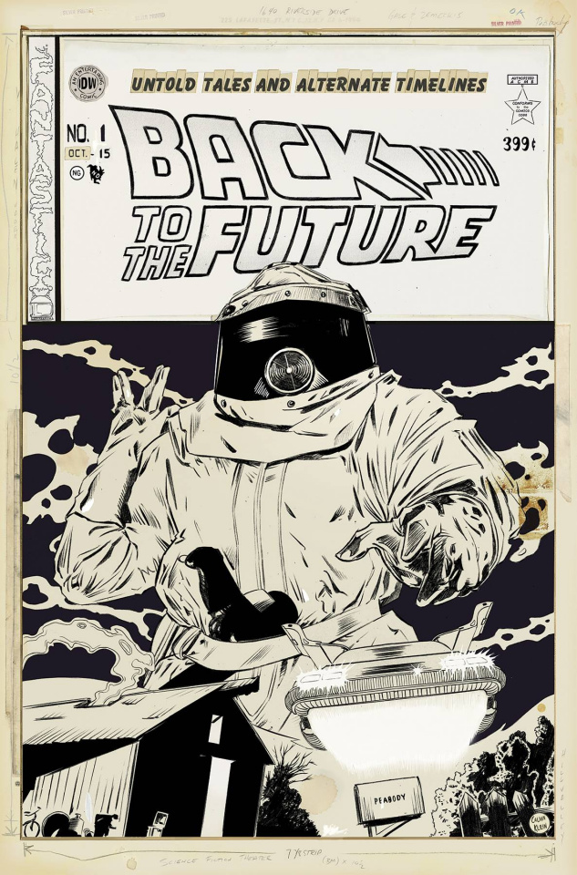 Back to the Future #1 (10 Copy Cover)