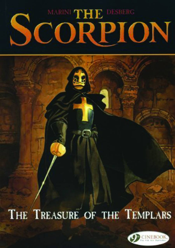 The Scorpion Vol. 4: The Treasure of te Templars