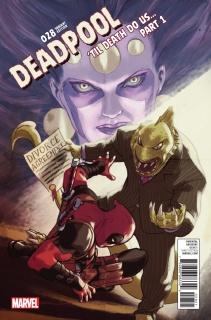 Deadpool #28 (Lopez Poster Cover)