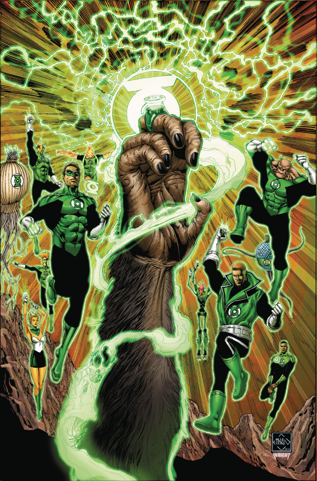 The Planet of the Apes / The Green Lantern #1