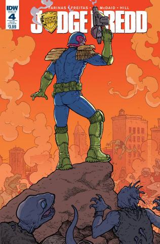 Judge Dredd #4 (Subscription Cover)