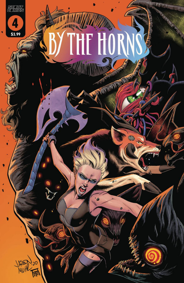 By the Horns #4 (Muhr Cover)