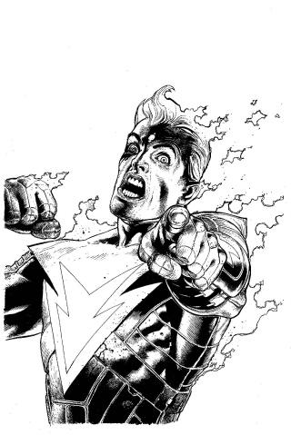Multiversity: Ultra Comics #1 (Black & White Cover)