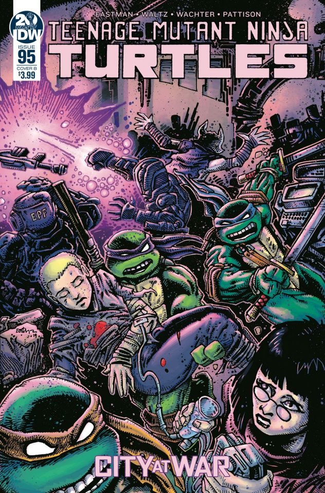 Teenage Mutant Ninja Turtles #95 (Eastman Cover)