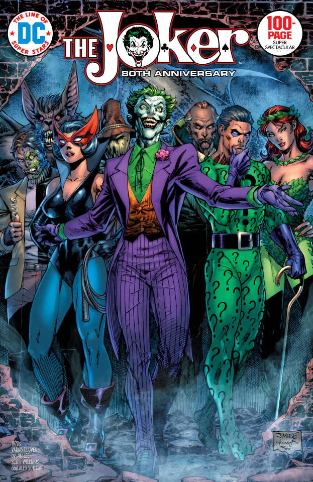 Joker 80th Anniversary 100 Page Super Spectacular #1 (1970s Jim Lee Cover)
