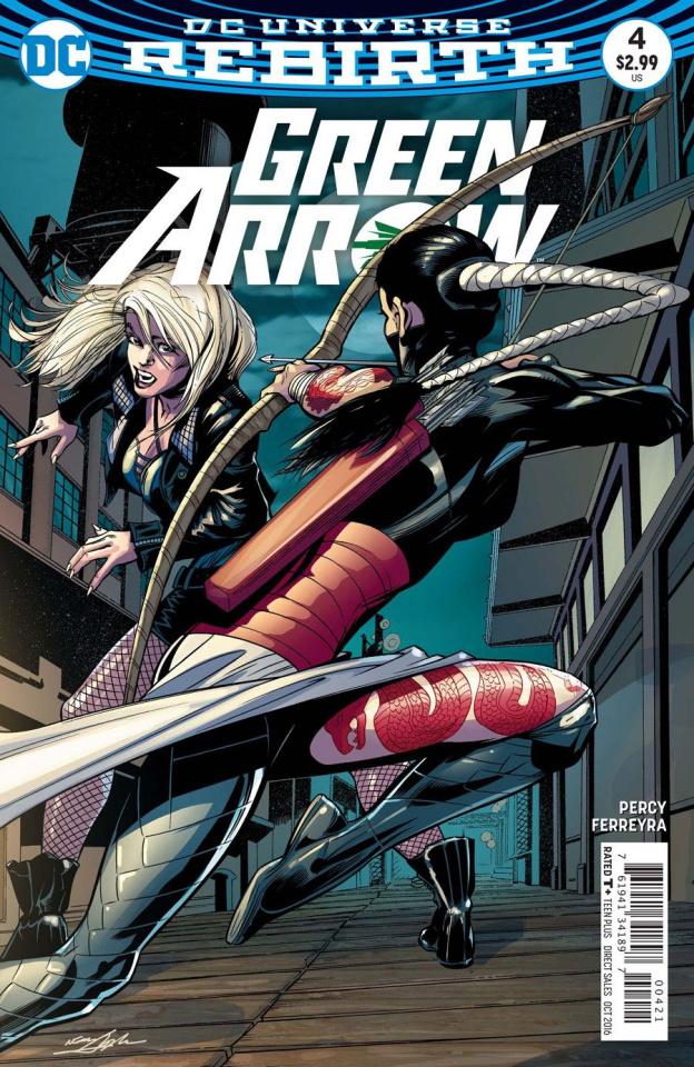 Green Arrow #4 (Variant Cover)